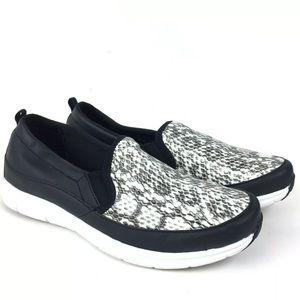Easy Spirit E360 Snake Print Sammi Slip On Sneaker